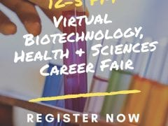 Virtual Biotechnology, Health, & Life Sciences Career Fair 2/7