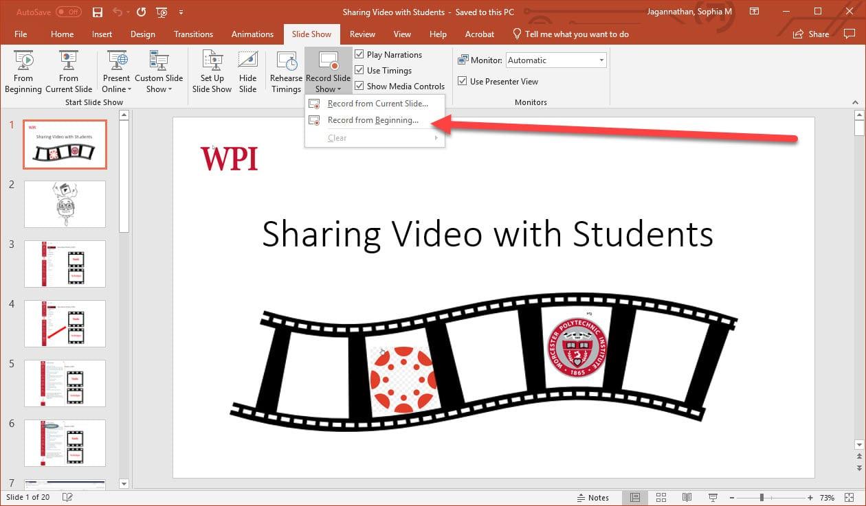 Announcements Educational Media At Wpi