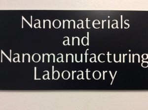 Nanomaterials and Nanomanufacturing Laboratory