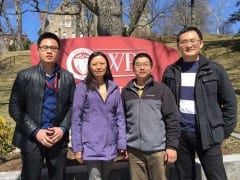 NNL Activities: Prof. Xiang Wang visited the NNL during April 2015 – April 2016