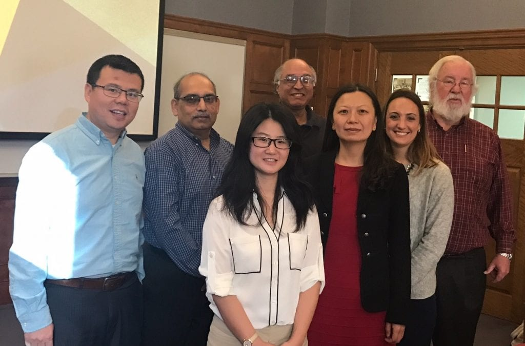 Dr Yangzi Xu PhD dissertation defenses on Friday, December 9, 2016