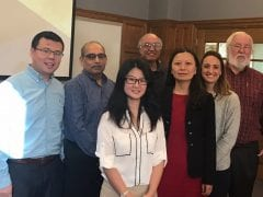 Congratulations to Dr. Yangzi Xu on a successful defense of her PhD on Friday, December 9, 2016