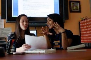peer-to-peer discussion