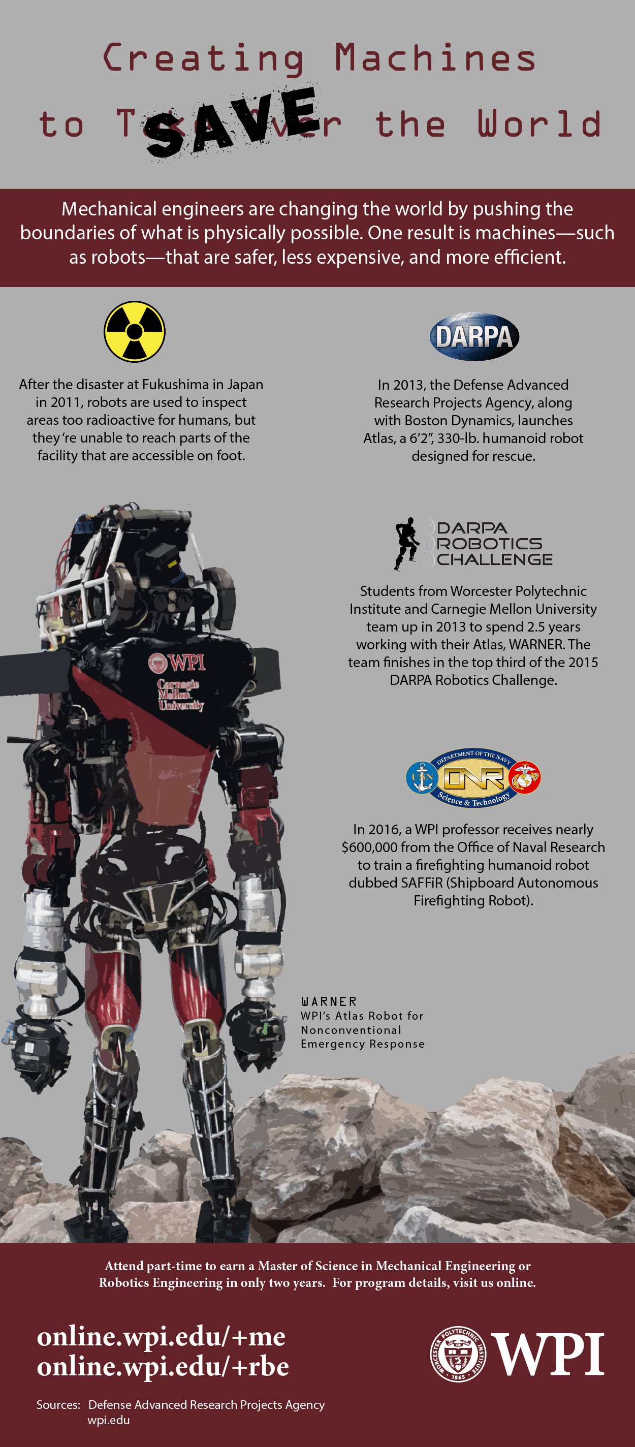 Robots To The Rescue Infographic Catalyst