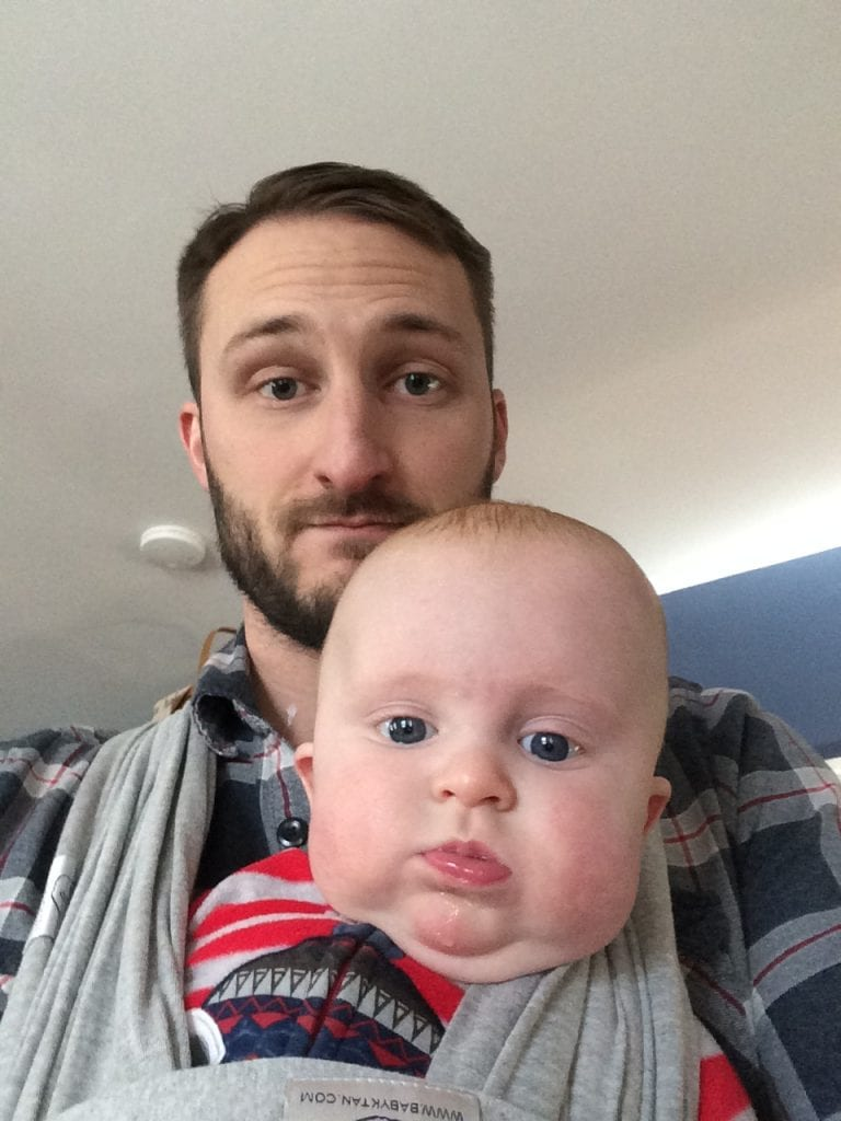 Less time on Twitter = more quality baby-time for Dad, too!