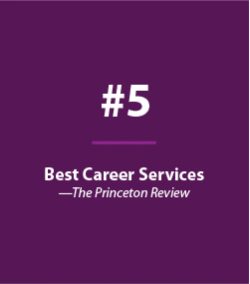#5 Best Career Services