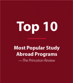 Top 10 Most Popular Study Abroad Programs