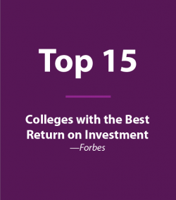 #15 Colleges with the Best Return on Investment (Forbes)