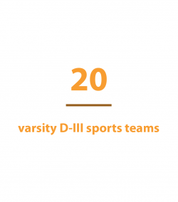 20 varsity D-III sports teams