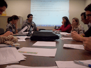 A discussion of  our findings with MassDEP officials, our advisors, and the other IQP team working with MassDEP.