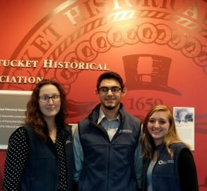 The NHA Group: (left to right) Catherine Bonner, Adam Karcs, and Emily Perry