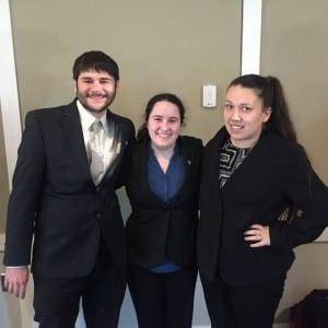 Adam Weiss, Shawna McGaffigan, Paige Lamica