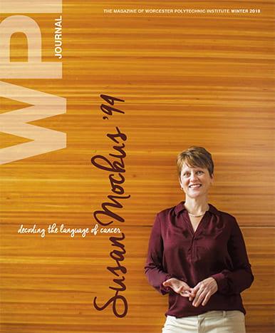WPI Journal Winter 2018 Cover