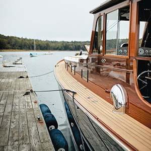 Wes Wheeler's boat