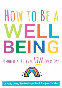 """Cover of book titles """"How To Be a Well Being"""""""