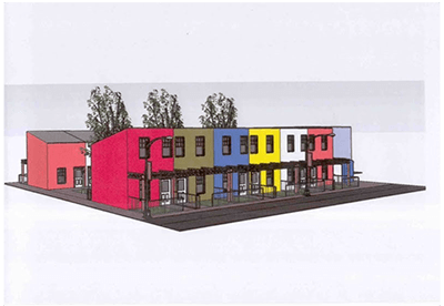 Figure 1: Proposed housing layout for redevelopment (VPUU, 2006)