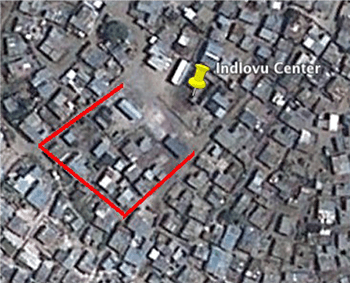 Figure 3: roads bordering redevelopment seed