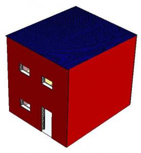Figure 2: CAD model of single unit