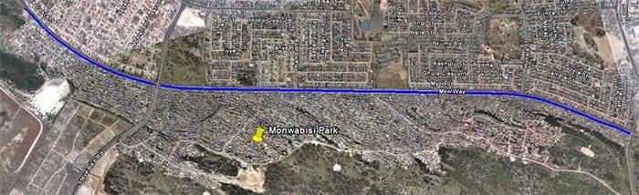Figure 3: Proposed sidewalk extents