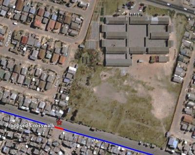 Figure 9: Location of proposed crosswalk