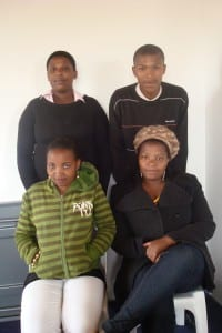 Co-researchers for the Cape Town Project Site 2009