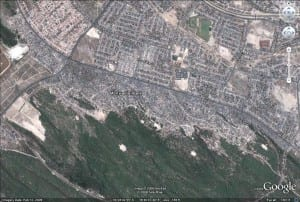 Monwabisi Park Blank Map