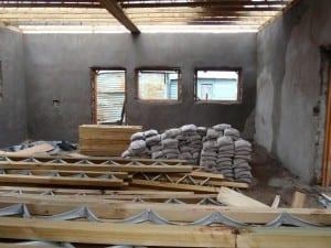 Sand bag housing