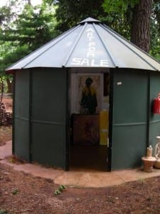 A art hut at Montebello
