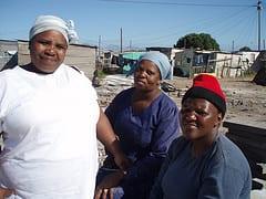Residents of Monwabisi Park