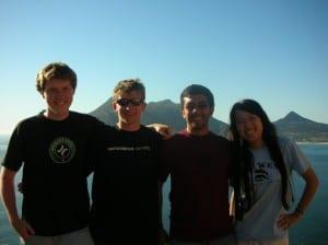 Initiation Site Development Team, Cape Town, 2010