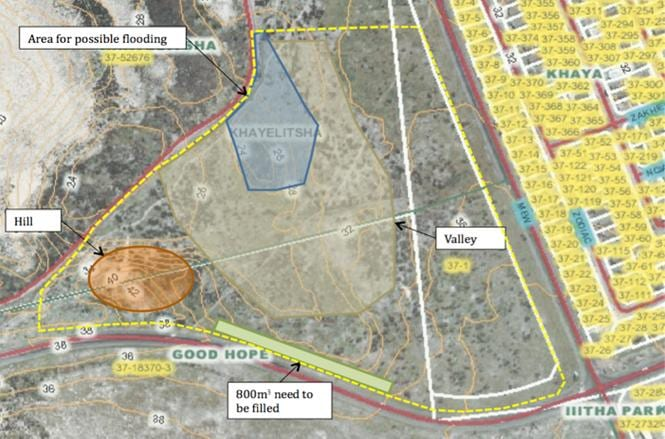 Good Hope College Site Topography Conditions
