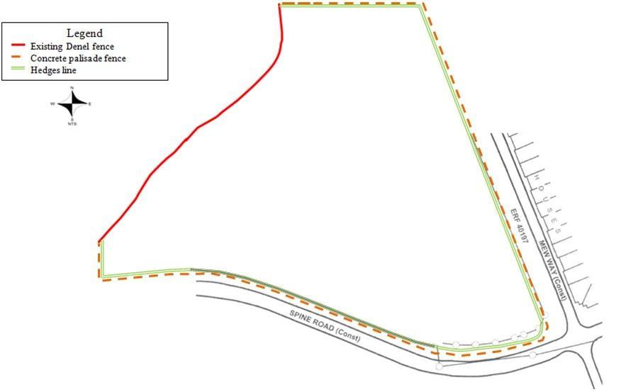 Vegetation Layout for Phase II