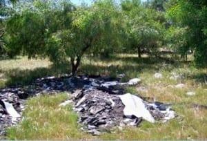 Trashed Dumped on Langa Site