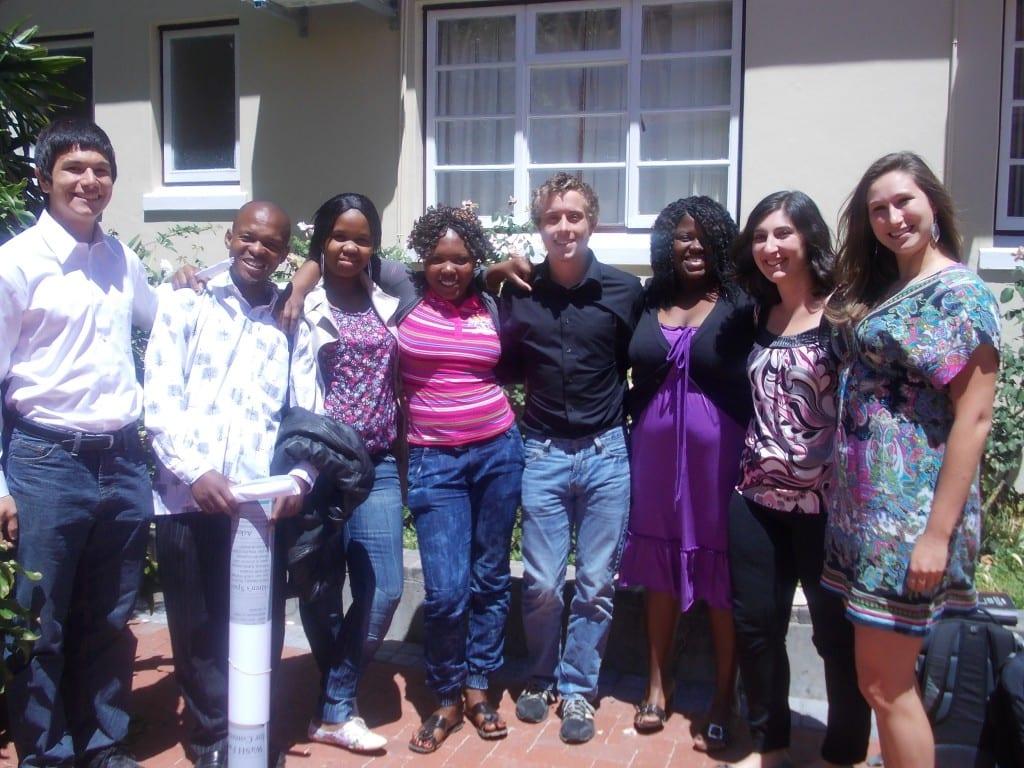 The Langrug Greywater Team after final presentation