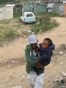 Sizwe and Child from Zwelitsha
