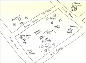An example of a social map