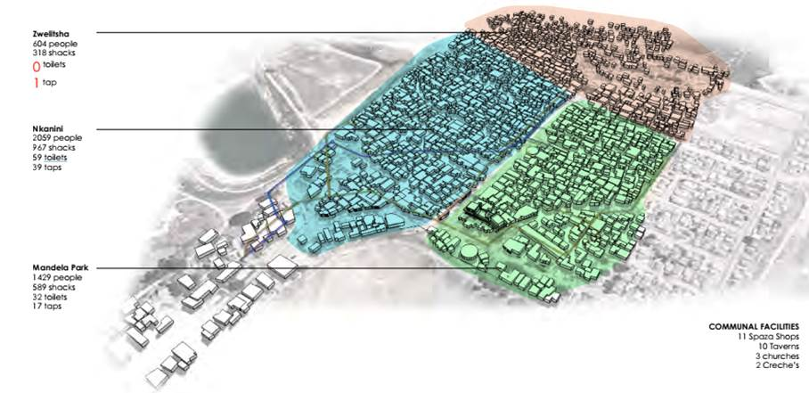 Langrug Map from SDI Langrug Booklet