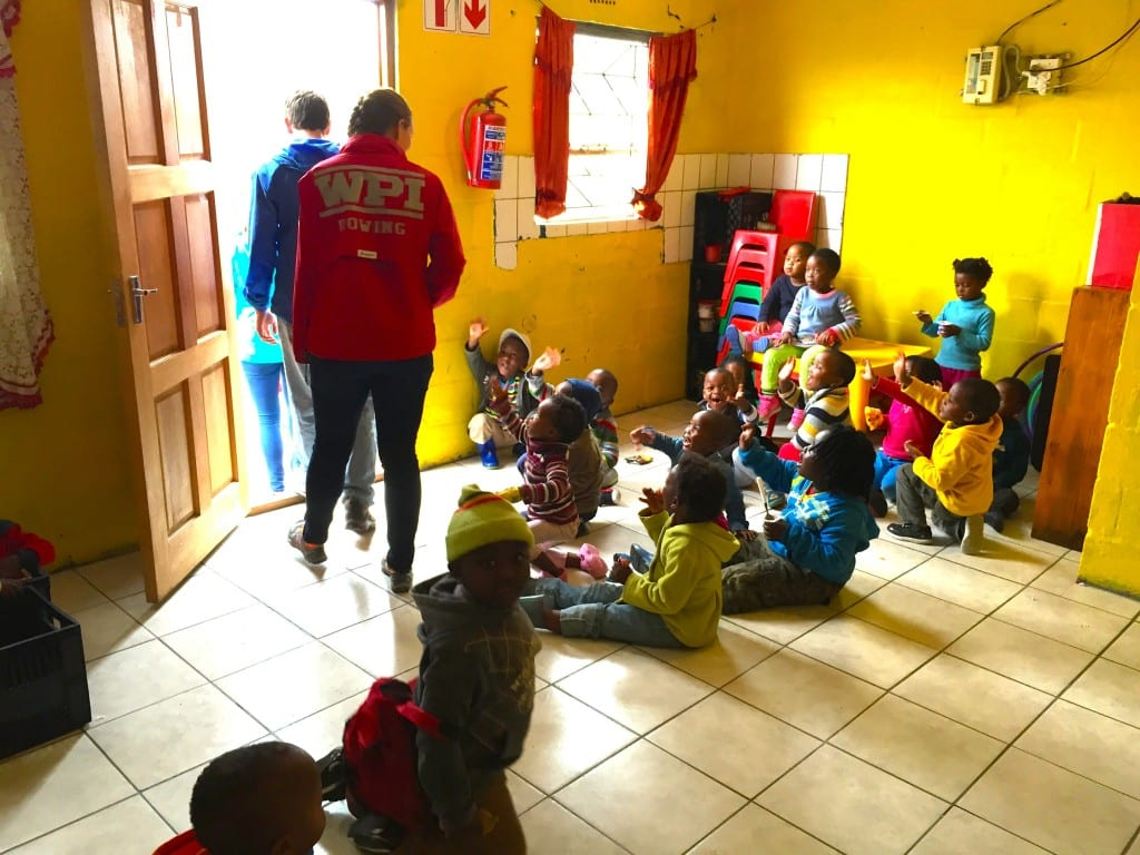 Children at play in Philippi educare centre. style=