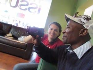 Xolani Takes Control Of The Camera