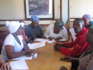 FIkiswa Explains The Process to the Vendors
