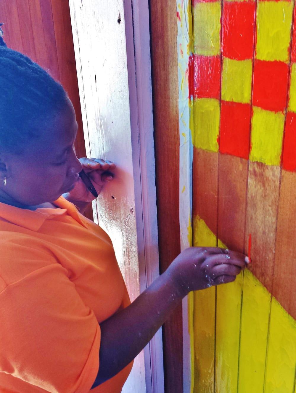 Mama Tandi Painting