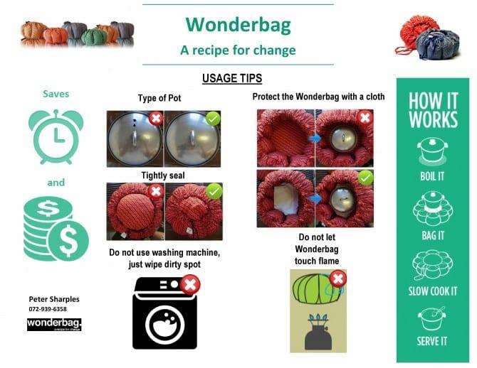 Wonderbag Safety Tip image