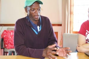 Themba Discussing His Strengths And Weaknesses