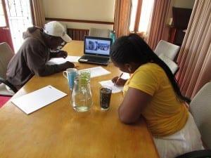 Xolani And Fikiswa Analyzing Their Photos