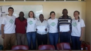 WPI team and co-researchers from Vygieskraal