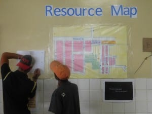 A SDR team member and a co-researcher reflect on how to improve the resource map.
