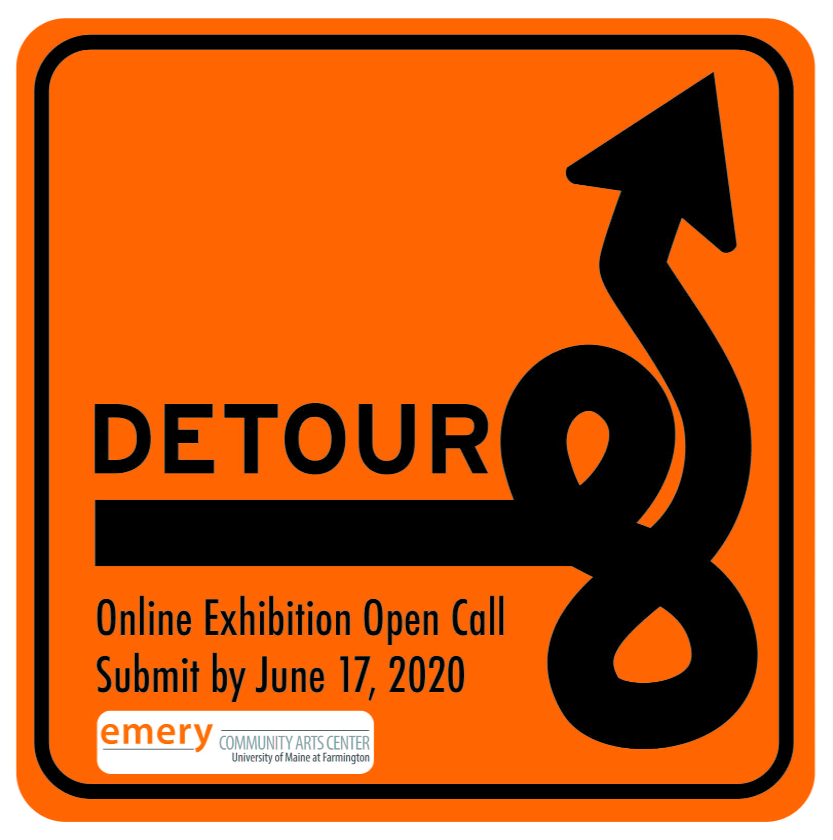 DETOUR Open Call Poster