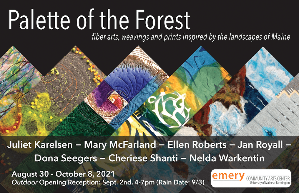 Exhibition Flyer for Palette of the Forest