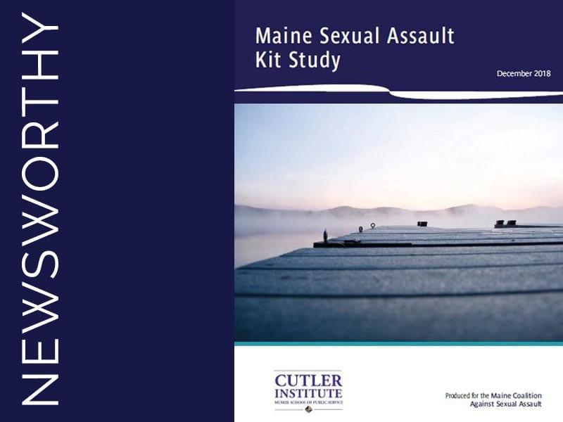 Maine Sexual Assault Kit Study Receives National Award