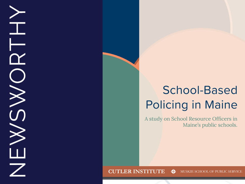 School Based Policing Report Cover in Slider